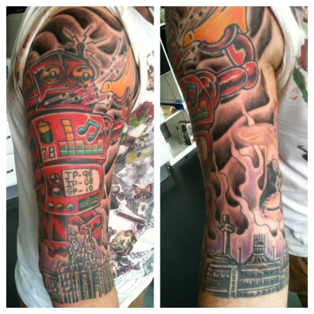 Daniel irish st tattoo for Tattoo shops in fort wayne