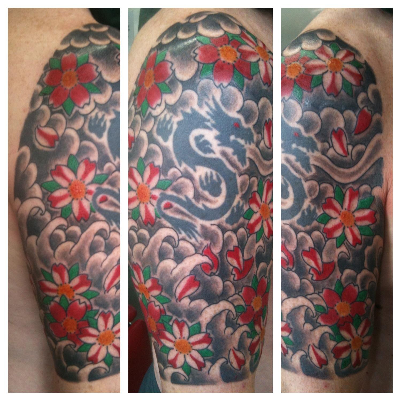 Irish Street Tattoo Japanese background. | IRISH ST TATTOO