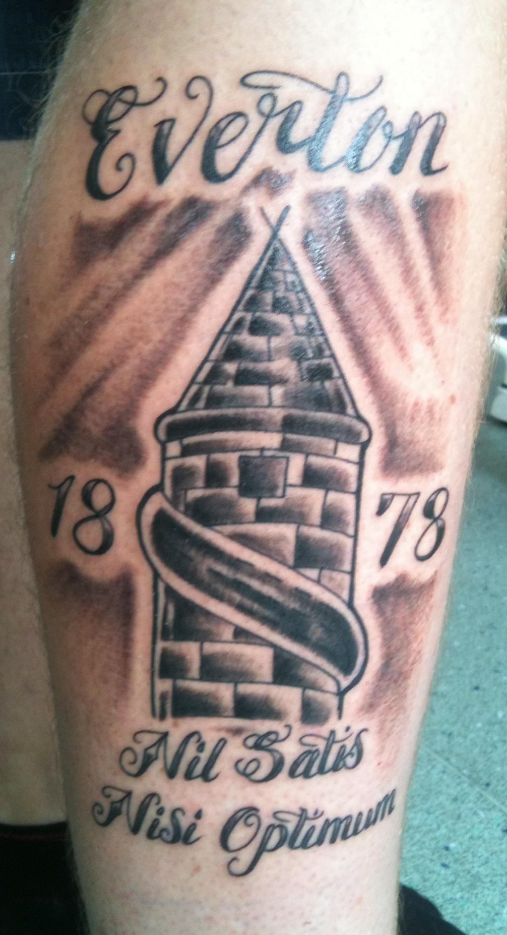 irish street tattoo everton efc tattoo irish st tattoo. Black Bedroom Furniture Sets. Home Design Ideas