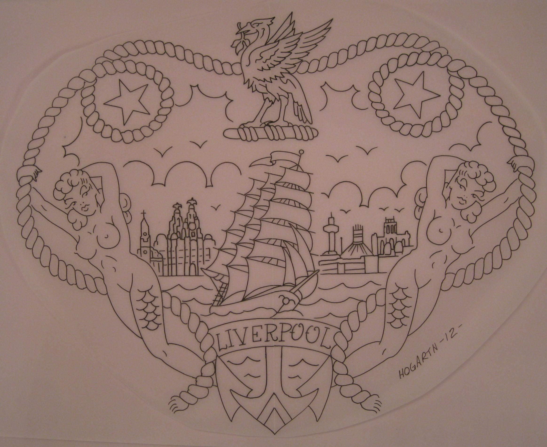 Irish tattoo drawings x3