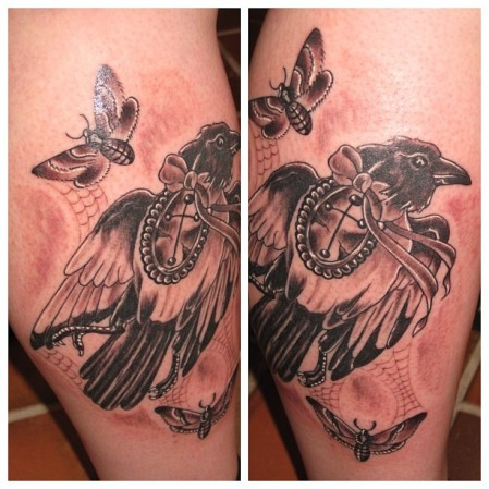 dead magpie tattoo