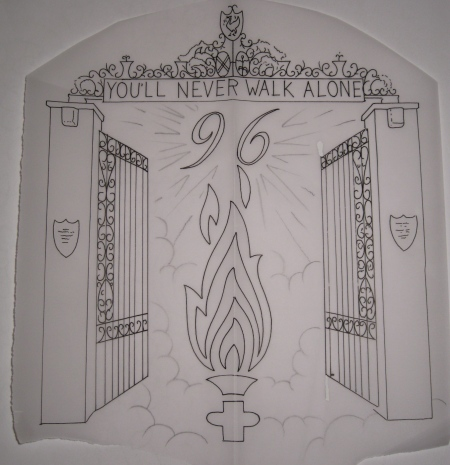 Was just drawing up a Hillsborough memorial tattoo and thought I'd share it.
