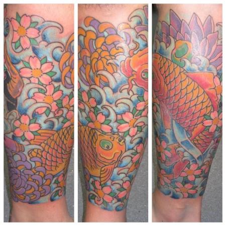 liverpool koi carp tattoo
