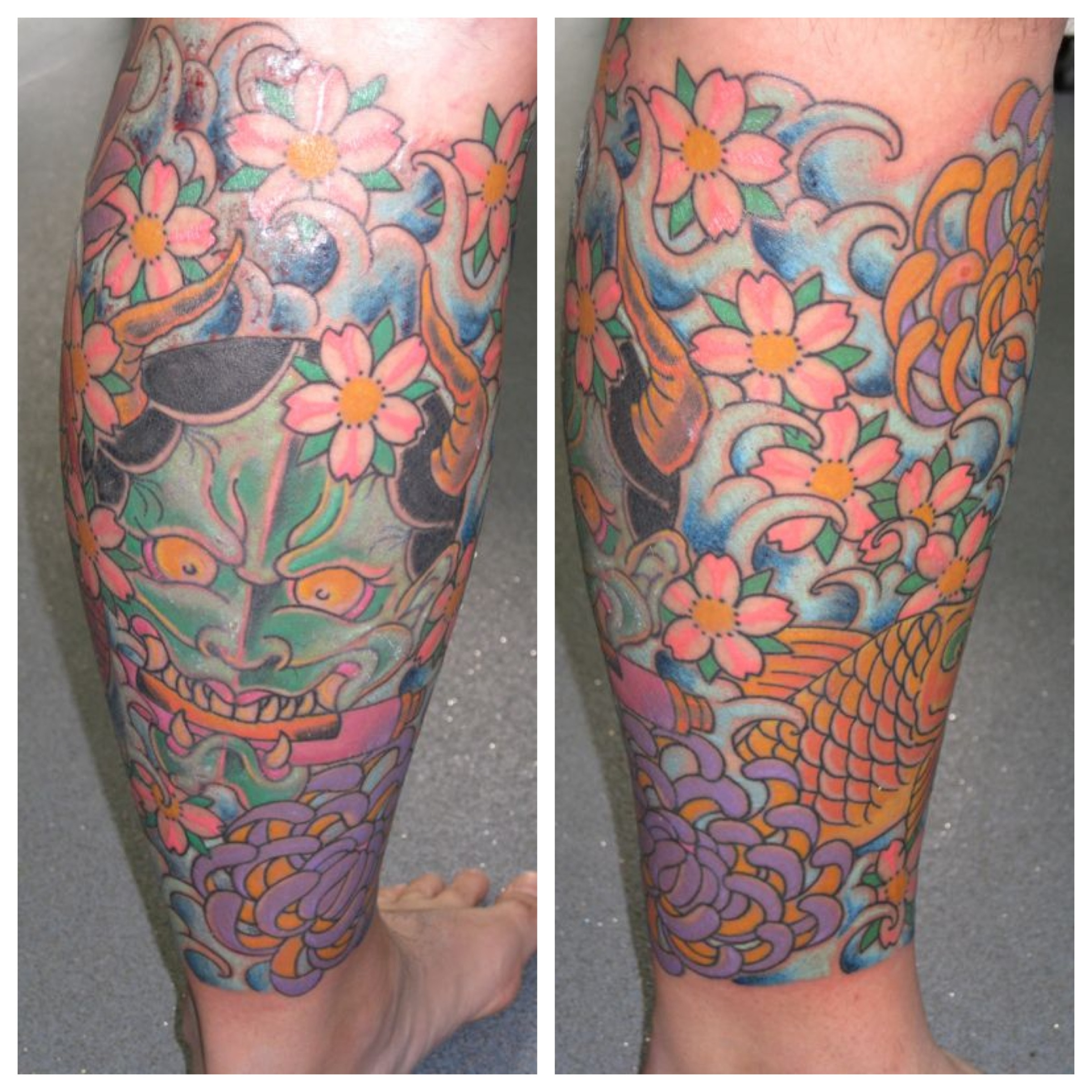 Koi Irish St Tattoo