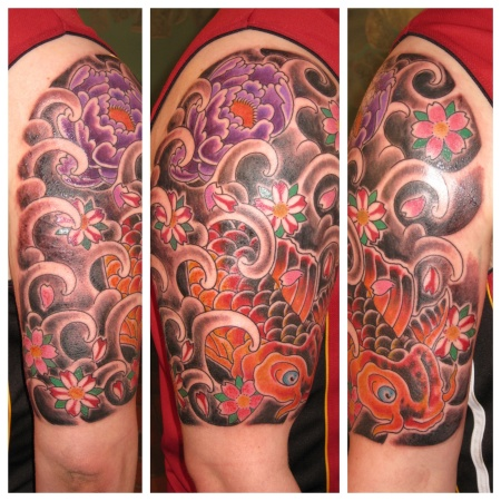 Half sleeve done in ONE sitting.