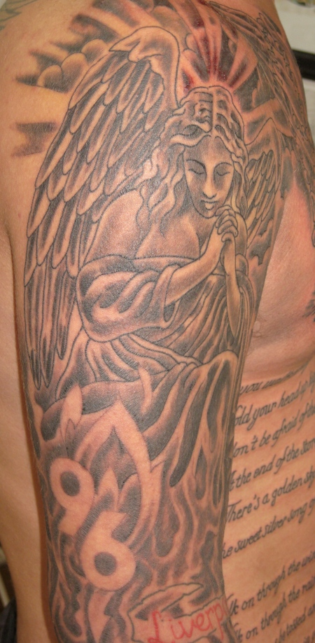 liverpool hillsborough 96 tattoo