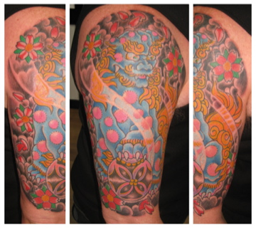 foo dog irish street tattoo downpatrick