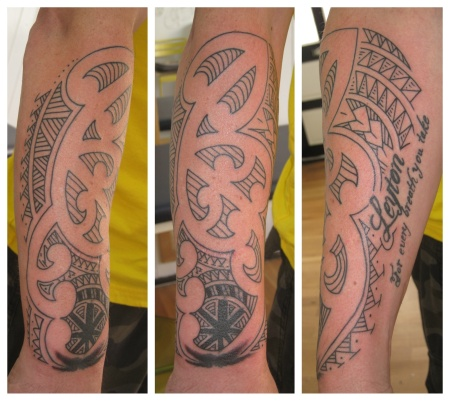 tribal cover up irish street tattoo downpatrick