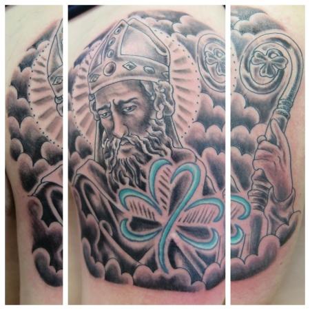 saint patrick irish street tattoo downpatrick belfast