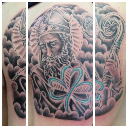 saint patrick irish street tattoo downpatrick belfast