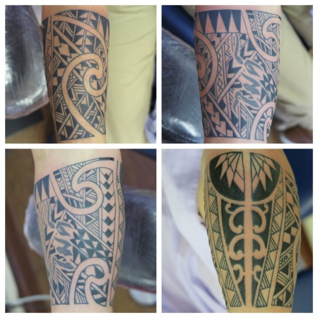 freehand tribal polynesian irish street tattoo downpatrick belfast