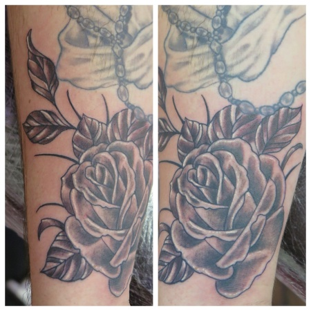 rose irish street tattoo belfast downpatrick
