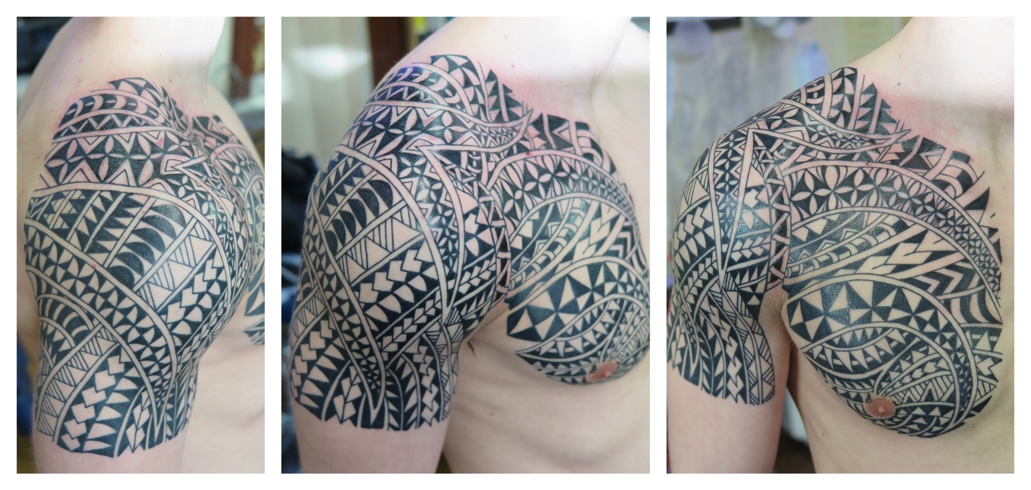 Maori Irish St Tattoo