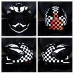 helmet reflective tape scotchlite motorcycle motor bike forum safety hi vis diy 2