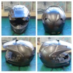 helmet reflective tape scotchlite motorcycle motor bike forum safety hi vis diy 3