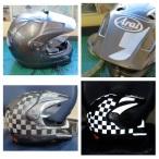 helmet reflective tape scotchlite motorcycle motor bike forum safety hi vis diy 7